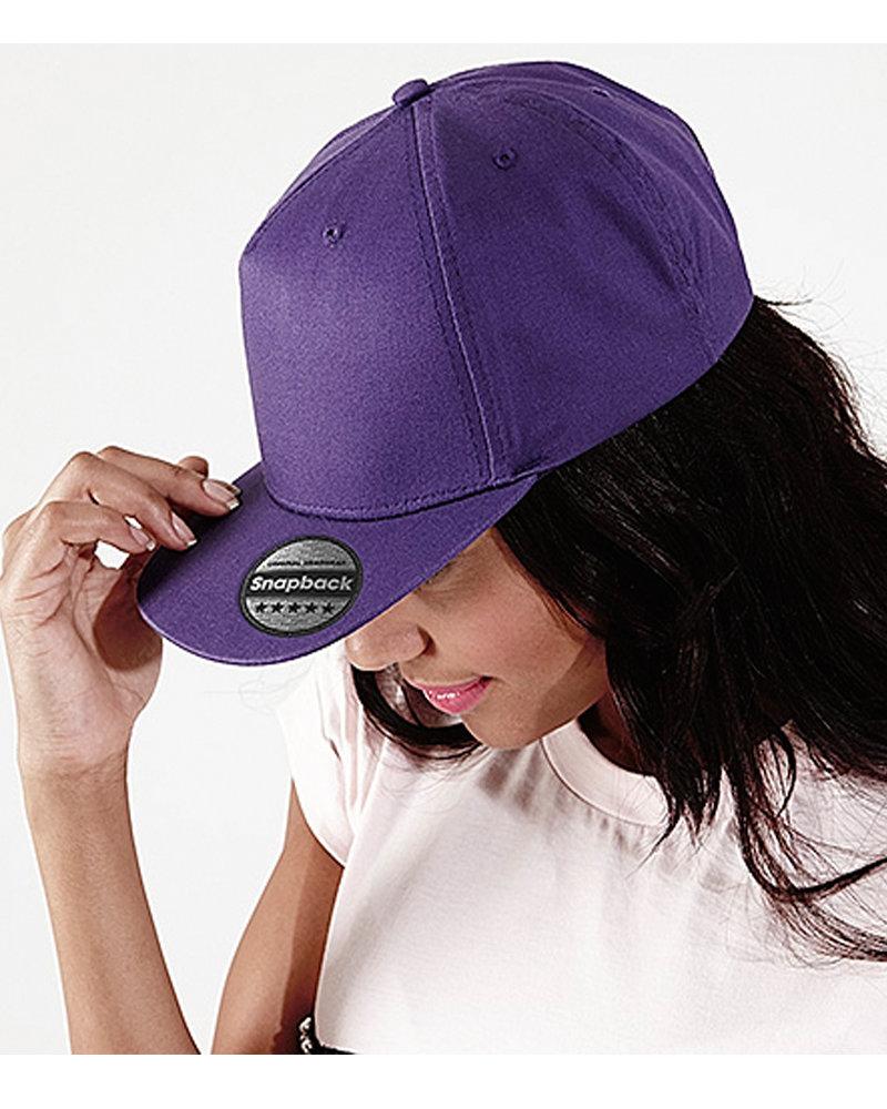 Beechfield BB610 5 Panel Snapback Rapper Cap