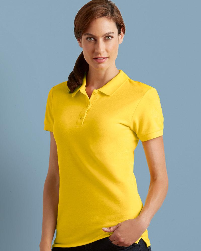 Gildan GD73 Ladies Premium Cotton® Double Piqué Polo Shirt
