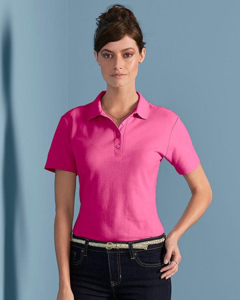 Gildan GD75 Ladies SoftStyle® Double Piqué Polo Shirt