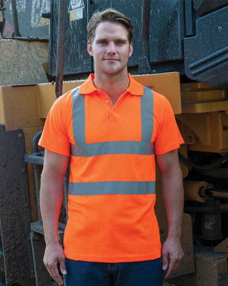 RTY HV70 Hi-Vis Polo Shirt