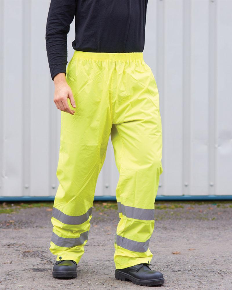Portwest PW012 Hi-Vis Rain Trousers