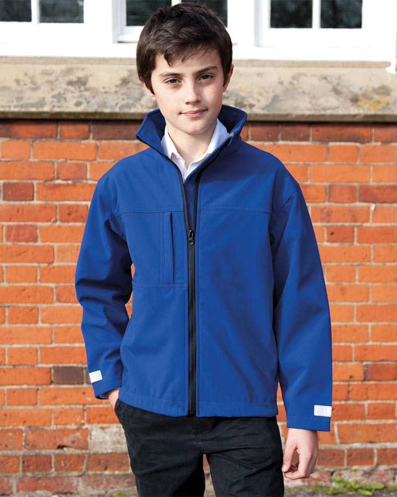 Result RS121B Kids Classic Soft Shell Jacket