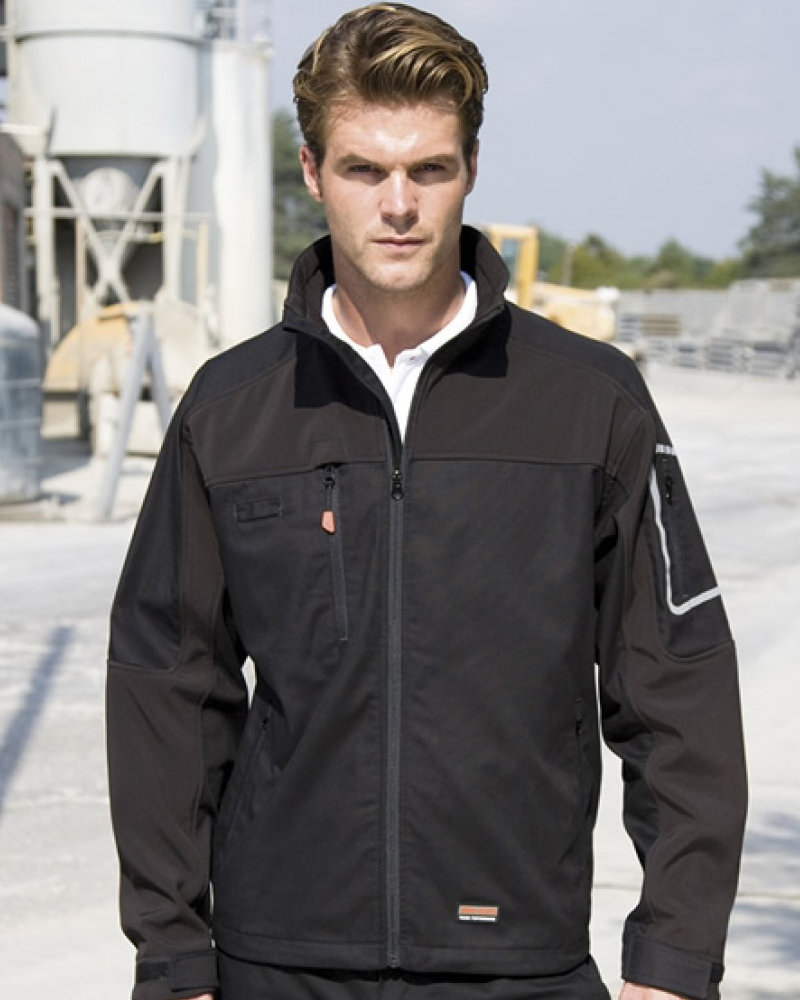Result Work-Guard RS302 Sabre Soft Shell Jacket