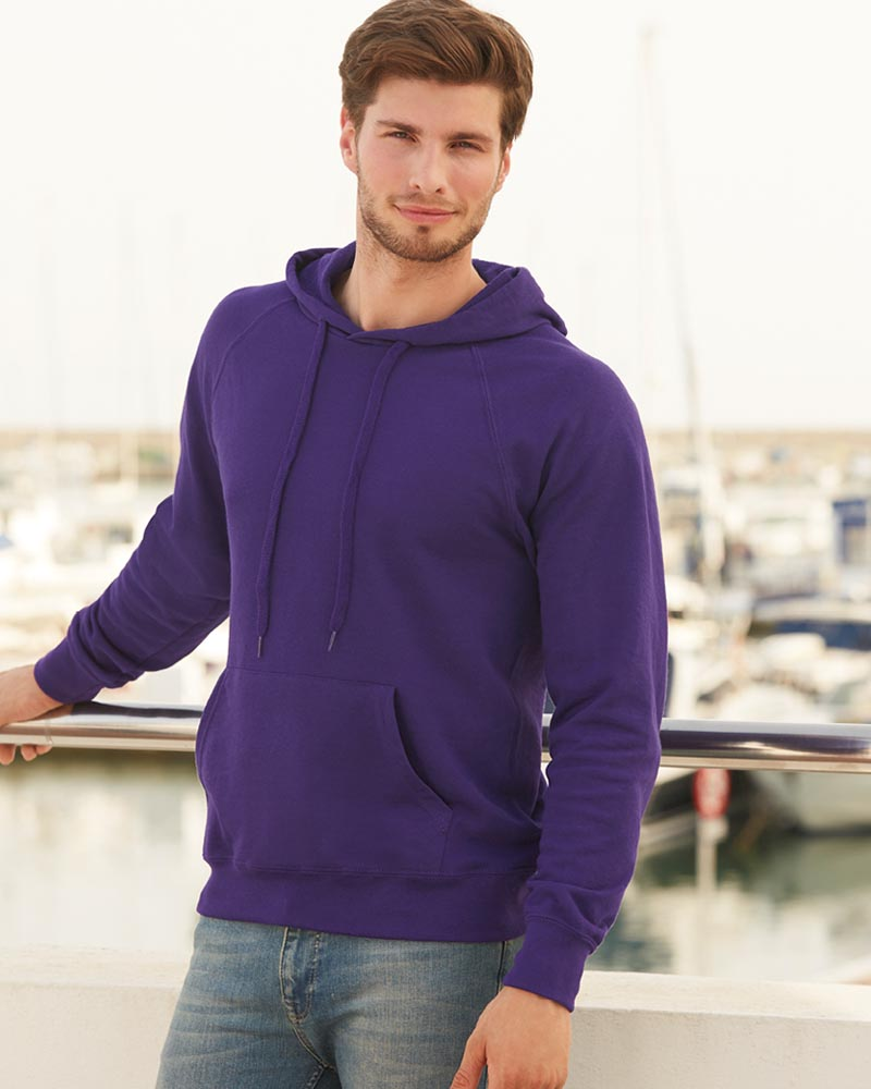 Fruit of the Loom SS121 Lightweight Hooded Sweatshirt
