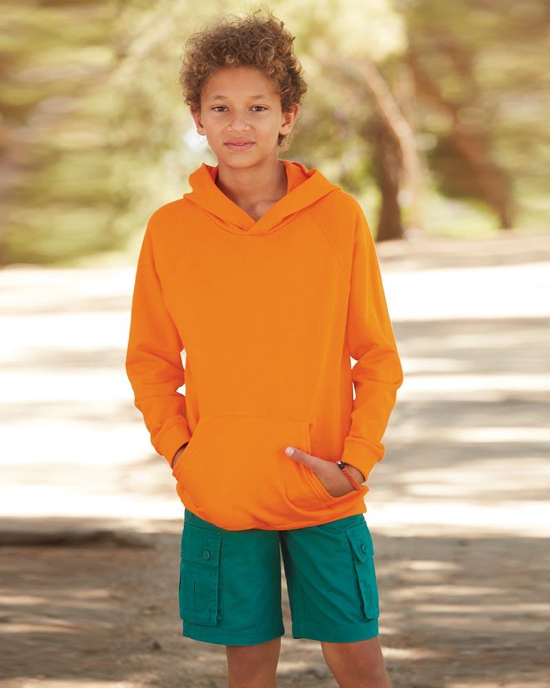 Fruit of the Loom SS121B Kids Lightweight Hooded Sweatshirt