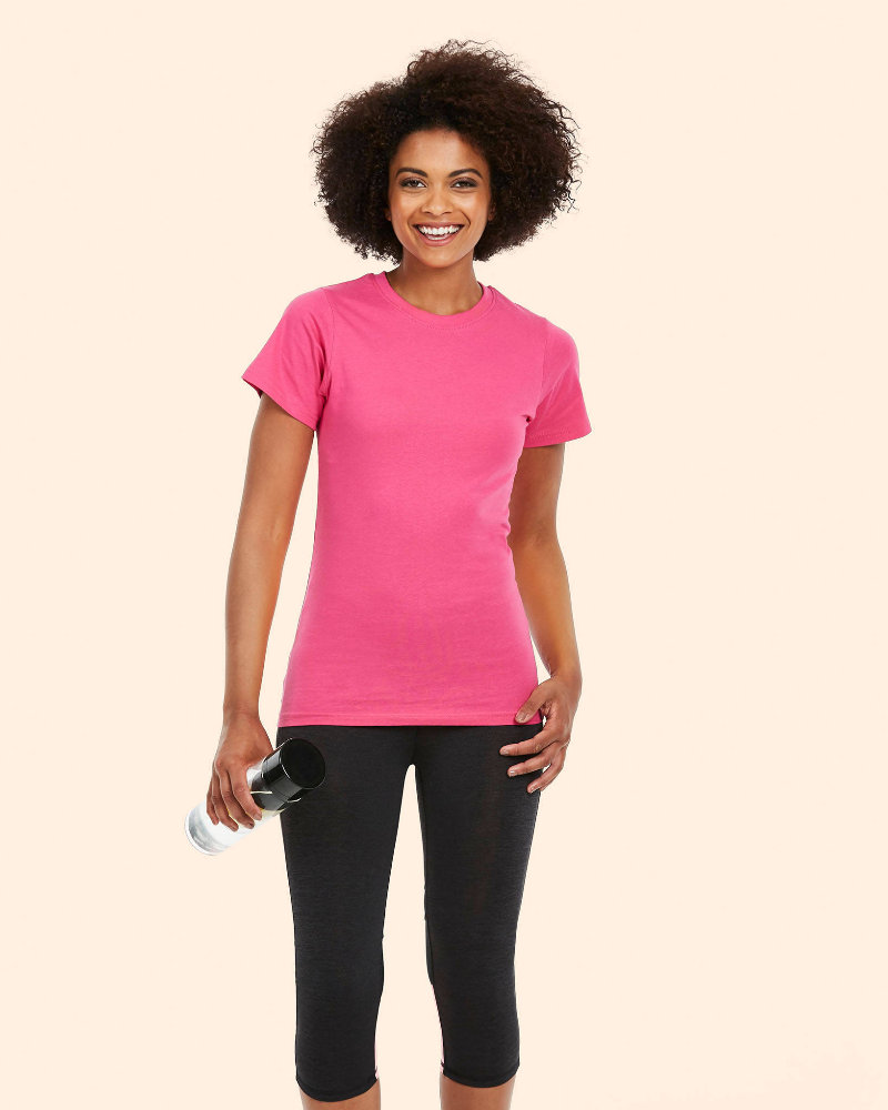 Uneek UC318 Ladies Classic Crew Neck T-Shirt