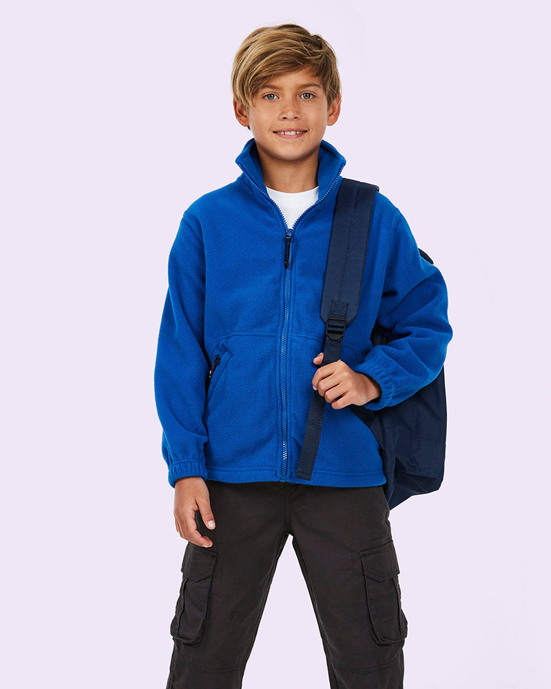 Uneek UC603 Childrens Full Zip Micro Fleece Jacket