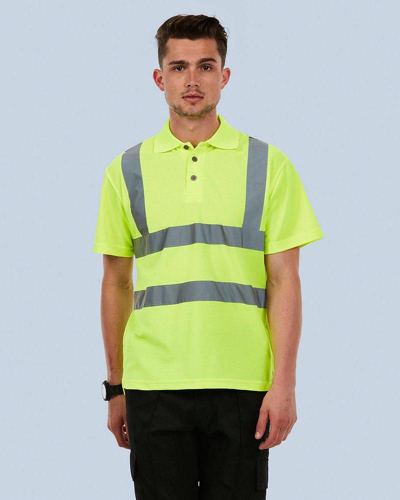 Uneek UC805 Hi-Viz Polo Shirt