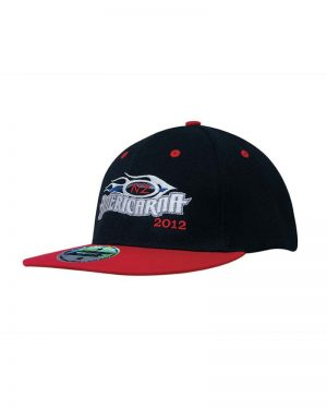 Headgear 4106 Premium American Twill with Snap Back Pro Styling - Two Tone