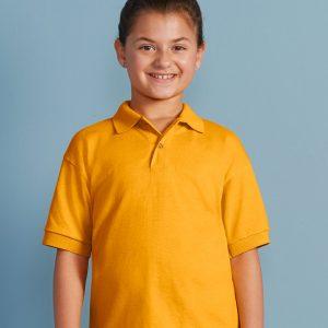 Gildan GD40B Kids DryBlend® Jersey Polo Shirt