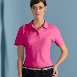 Gildan GD75 Ladies SoftStyle® Double Piqué Polo Shirt