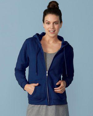 Gildan Heavy Blend GD80  Ladies Zip Hooded Sweatshirt