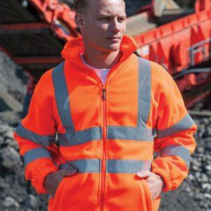 RTY HV72 Hi-Vis Fleece Jacket