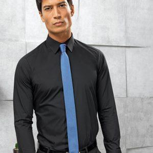 Premier PR204 Long Sleeve Fitted Poplin Shirt
