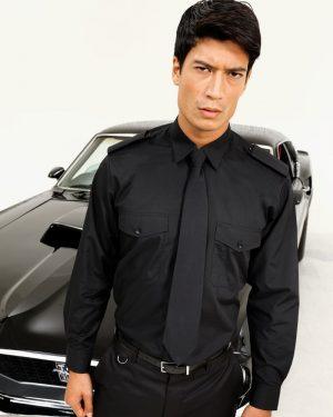 Premier PR210 Long Sleeve Pilot Shirt