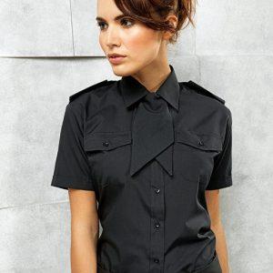 Premier PR312 Ladies Short Sleeve Pilot Shirt