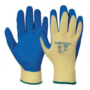 Portwest PW085 Kevlar Latex Grip Gloves