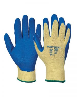 Portwest PW085 Kevlar Latex Grip Gloves
