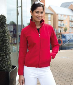 Result RS131F Ladies Osaka TECH Performance Fleece/Soft Shell Jacket