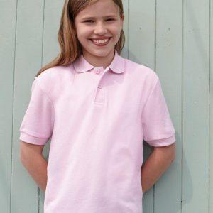 Fruit of the loom SS11B Kids Poly/Cotton Piqué Polo Shirt