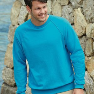 Fruit of the Loom SS120 Lightweight Raglan Sweatshirt