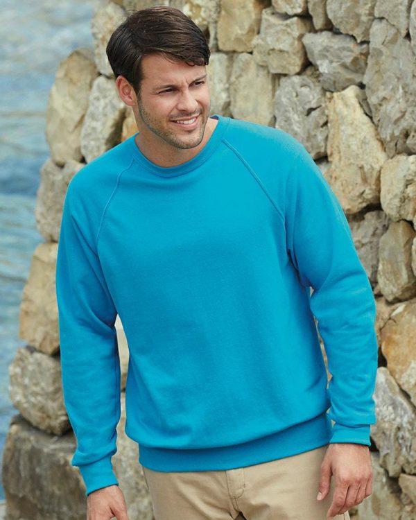 Fruit of the Loom SS120 Lightweight Raglan Sweatshirt