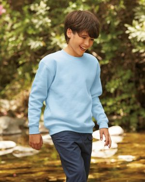 Fruit of the Loom SSE9B Kids Premium Drop Shoulder Sweatshirt