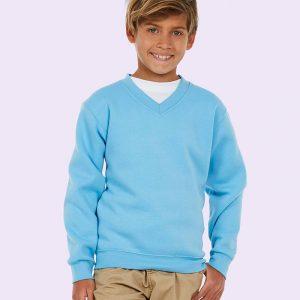 Uneeks UC206 Childrens V Neck Sweatshirt