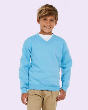 Uneeks UC206 Childrens V Neck Sweatshirt