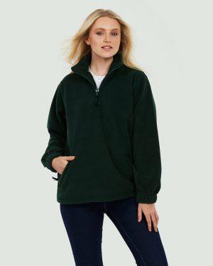 Uneek UC602 Premium 1/4 Zip Micro Fleece Jacket