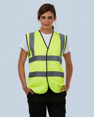 Uneek UC801 Sleeveless Safety Waist Coat