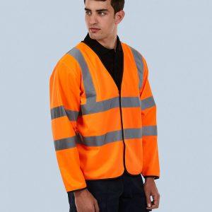 Uneek UC802 Long Sleeve Safety Waist Coat