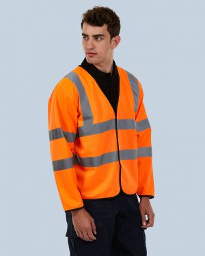 Uneek UC802 Long Sleeve Safety Waist Coat