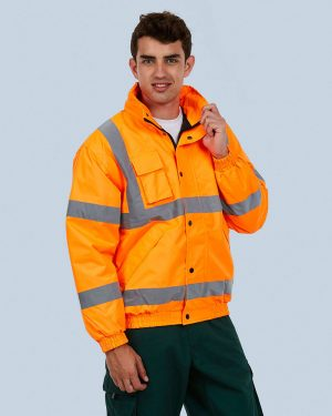 Uneek UC804 High Visibility Bomber Jacket